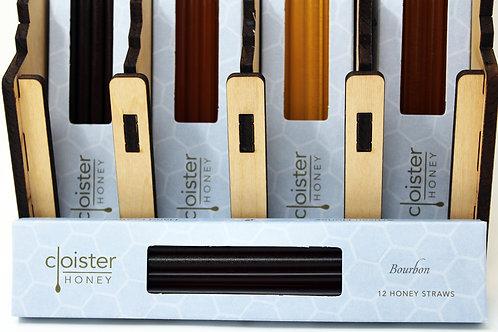 CH006 12 Stick Bourbon Honey Straw Cloister Honey 6/case $4.24 each $25.44/Case
