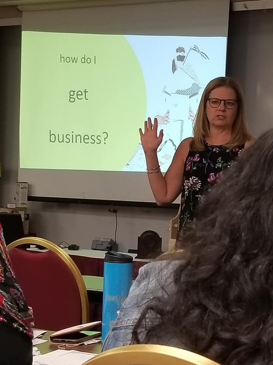 Sue shared How Do I Get Business at the 2018 National Gift Basket Rally! We saw a lot of attendees a