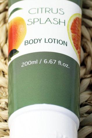 "#LS101 6.67oz Citrus Splash Body Lotion ""The Laze Spa"" only $2.48@"