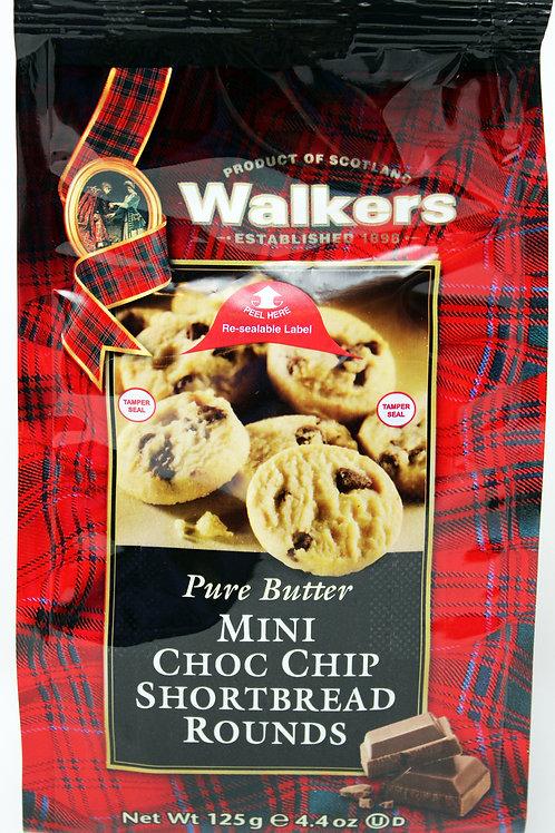 WK002 4.4oz Walkers Mini Chocolate Chip Cookie 6/case $4.55each $27.30/Case