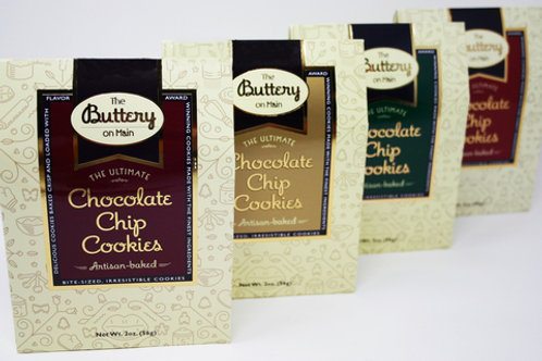 #3048 - 2oz The Buttery Chocolate Chip Cookie $1.68@ case 24