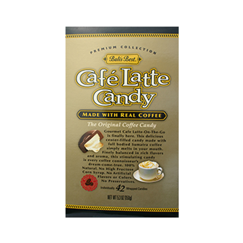#3014 Caffe Latte Candy Bag 5.3oz $1.95@ case 12