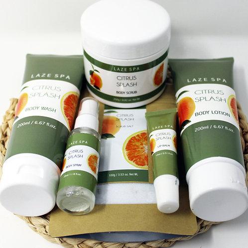 #LS106K - Citrus Splash Gift Kit 6 products plus Braided Mat only $15.00