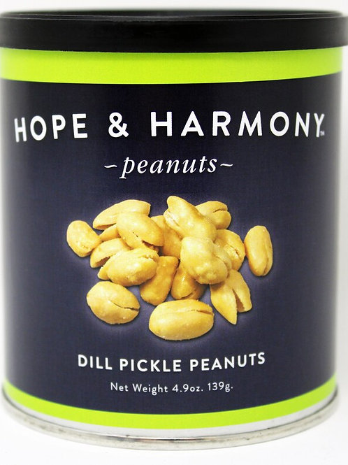 #NEW #7703 4.9oz Dill Pickle Peanuts 24/case $3.75 each $90.00/Case