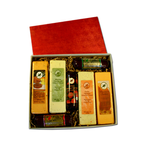 Gift #171 Cheese & Sausage Assortment Deluxe Boxed $23.49@ cs 4 Ready to sell