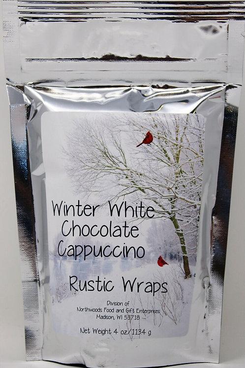 #RW3070 4oz Rustic Wraps White Chocolate Cappuccino Mix