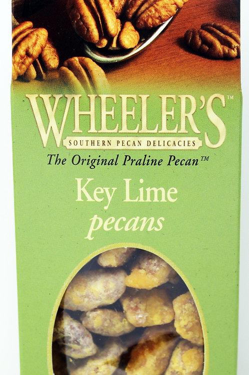 #2613 5oz Key Lime Pecans Wheeler's 12/case $5.23 each,