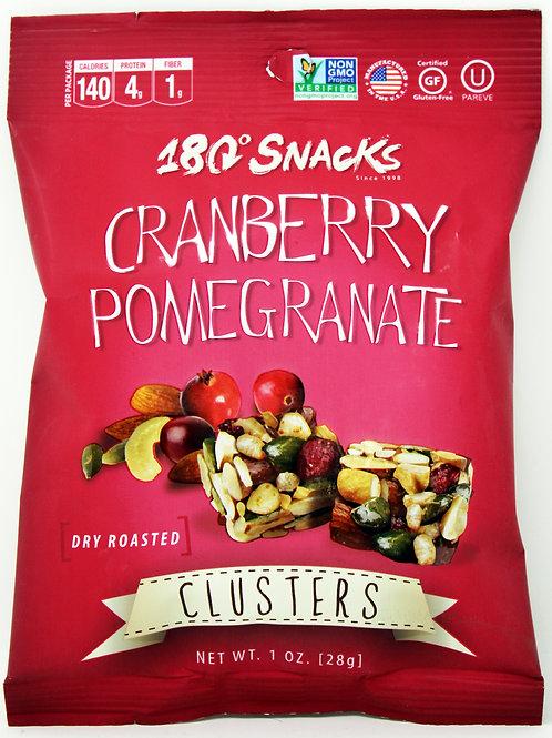 #6161 1oz Cranberry Pomegranate Clusters 180 Snacks 24/cs Gluten Free, Kosher