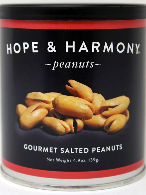 NEW #7704 4.9oz Gourmet Salted Peanut 24/case $3.75 each $90.00/Case
