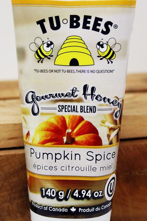 #9307 4.94oz Pumpkin Spice Honey Tubes 12/case $5.00 each, $60.00/Case FLAVORING