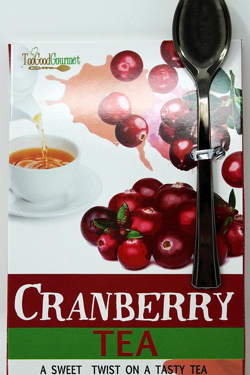 #8718 .32oz Cranberry Tea 24/Case $2.35 each Too Good Gourmet $56.40