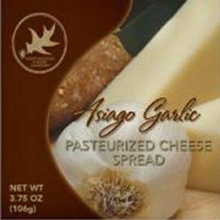 #1131 3.75 oz Asiago Garlic Cheese Spread $1.34@ cs 48
