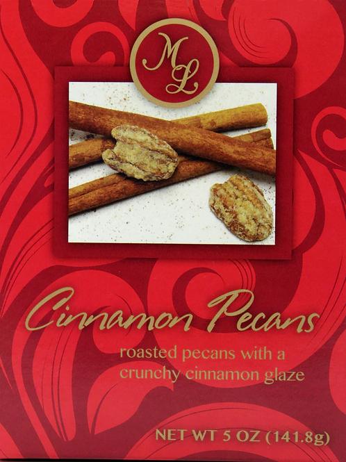 #ML48648 5oz Mille Lacs Cinnamon Pecans 12/case $3.99@