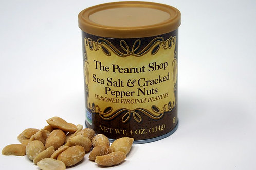 #2601 4oz Sea Salt and Cracked Pepper Peanuts $2.75@ 16/Case