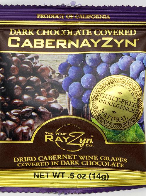 #2907 .5oz Dark Chocolate CabernayZyn 25/case $0.90 each