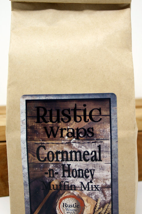 #WC5009 Rustic Wraps Cornmeal N Honey Muffin Mix $3.99@ case 6