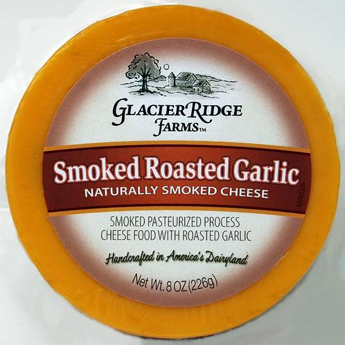 GRidge 8oz Naturally Smoked Roasted Garlic Cheese 12/case $3.50 each $42.00/Case