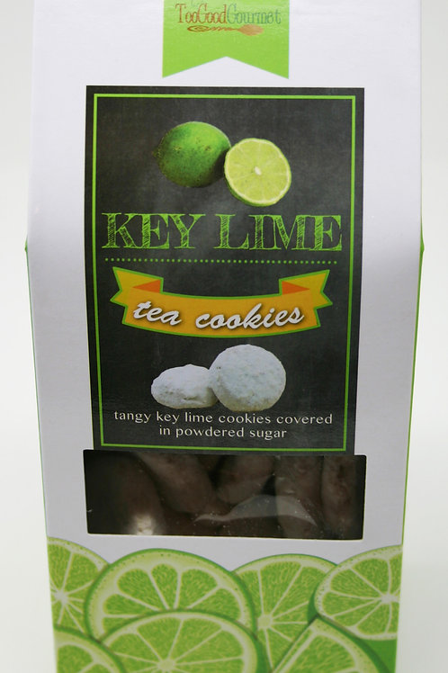 #8711 6oz Key Lime Tea Cookies 12/Case $4.25@