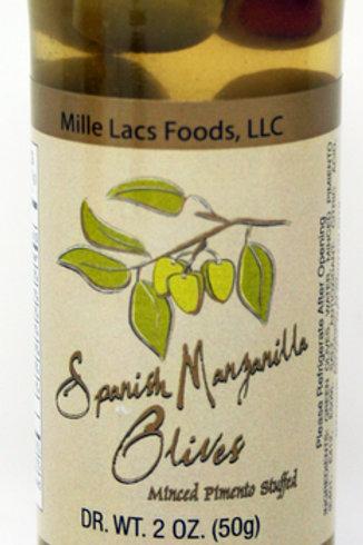 #ML43161 2oz Spanish Manzanilla Olives 24/Case $1.50@