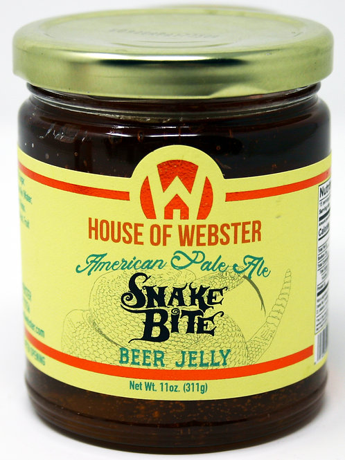 #8001E - 11oz Snake Bite American Pale Ale Craft Beer Jelly $6.25@ case 6