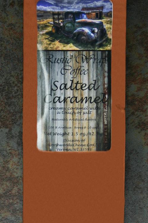 #8507 1.5oz Rustic Wraps Salted Caramel Coffee Copper Wrap 12/Case