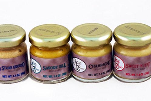 ML43177 1.40oz Mille Lacs Mustard Assortment 72/case $0.70 each $50.40/Case
