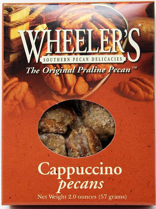 NEW #2611 2oz Cappuccino Pecans 18 cs $3.25@