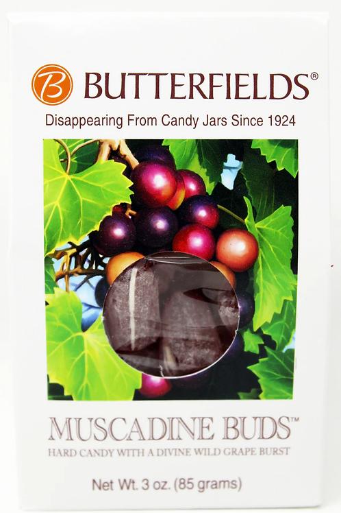 #BF013 3oz Muscadine Buds Butterfields 12/case $2.25 each $27.00/Case