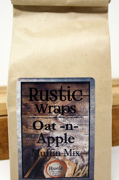 #WC5005 Rustic Wraps Oat N Apple Muffin Mix $3.99@ case 6