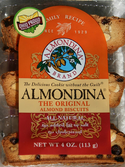 #8500 4oz Almondina Original Almond Biscuits$3.25@ case 12