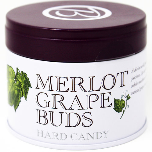 #BF003 Butterfields Merlot Grape Buds Tin 3.5oz 12/case