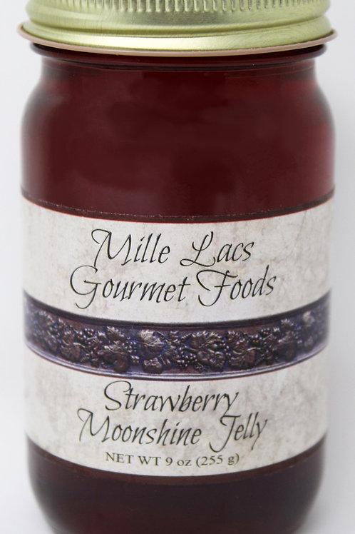 ML004 9oz Strawberry Moonshine Jelly Mille Lacs Label 6/Case $4.45 each $26.70/C