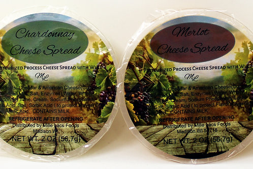 #ML43231 2oz Wine Cheese Cup Assortment 24 case $1.00@