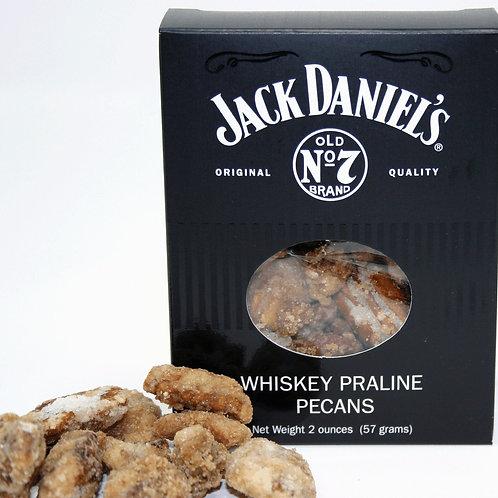 #2604 2oz Jack Daniels Whiskey Praline Pecans- $3.25@ 18/Case