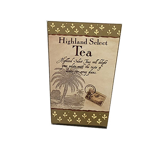 #3046 .1oz Highland Select Tea Gold only $1.22@ cs 24