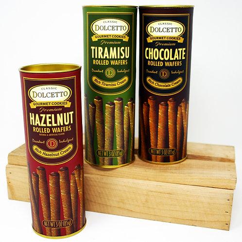 #8142 3oz Dolcetto Tin Assortment Hazelnut, Tiramisu and Chocolate flavors-4 of