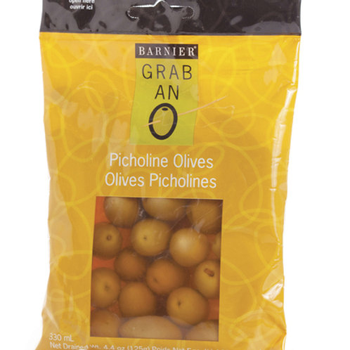 #8073 4OZ PICHOLINE OLIVES - $3.14@ case 12 = $37.68 great gift basket supply