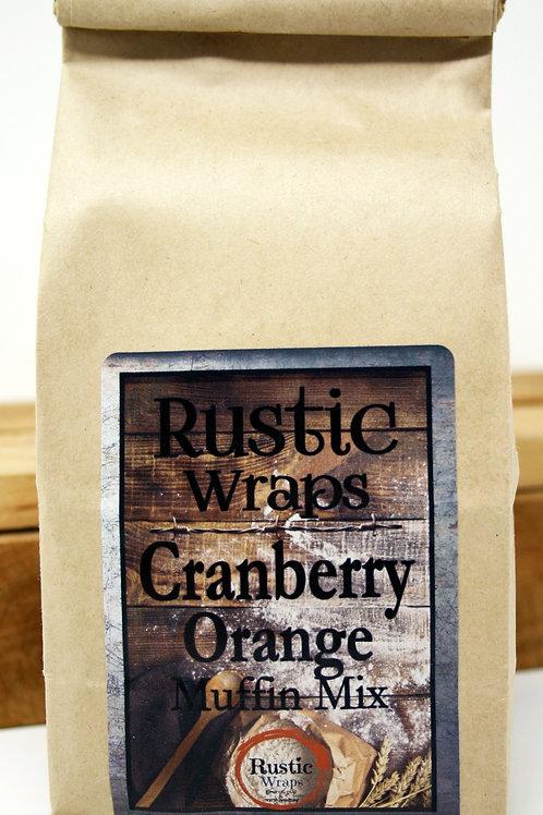 #WC5007 Rustic Wraps Cranberry Orange Muffin Mix $3.99@ case 6