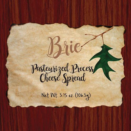 #1136 3.75 oz Wood Grain Brie Cheese Box $1.95@ case 48