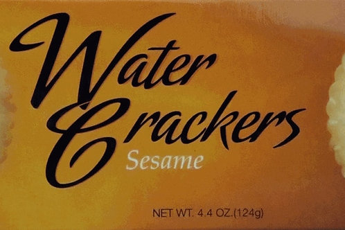#EL4501 Elki 4.4oz Sesame Water Cracker 12/Case $2.75 @