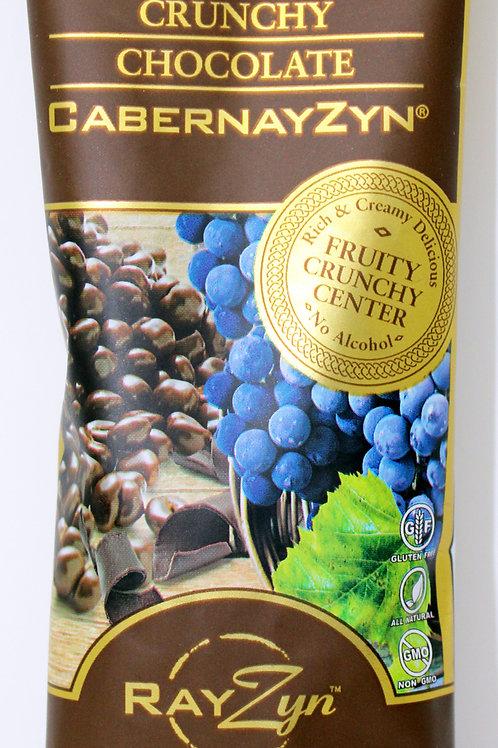 #2910 1.25oz Crunchy Dark Chocolate CabernayZyn 12/case $2.39 each