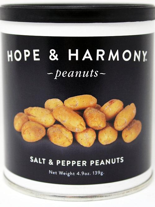 #7701 4.9oz Salt and Pepper Peanuts 24/case $3.75 each