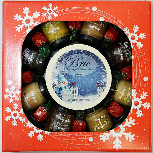 #ML7031 Mille Lacs Honey, Mustard, Holiday Go Round Gift
