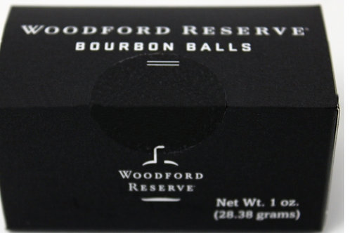#RH005 (NEW PRODUCT) 1oz Woodford Reserve Bourbon Balls 2 pieces