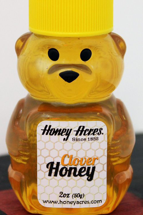 #8149 2oz Clover Honey Bear $3.10@ cs 25 = $77.50