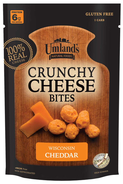 #UM006 .6oz Umlands WI Cheddar Cheese Bites 36/Case $2.15@ $77.40/Case