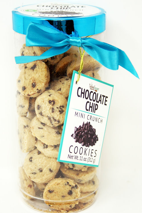 #8710 11oz Chocolate Chip Cookie Canister 12/case $5.98