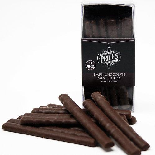 #6173 Dark Chocolate Mint Sticks 1.5oz $3.00@ case 12
