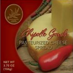 #1128 3.75oz Chipotle Gouda Cheese Spread $1.40@ cs 48