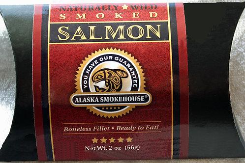 #6021 2oz Smoked Salmon Crimson Wrap Alaska Smokehouse  $4.55@